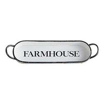 Oval Farmhouse Tray