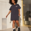 Thumbnail: Brunette The Label The Babes Club Boxy Tee Dress