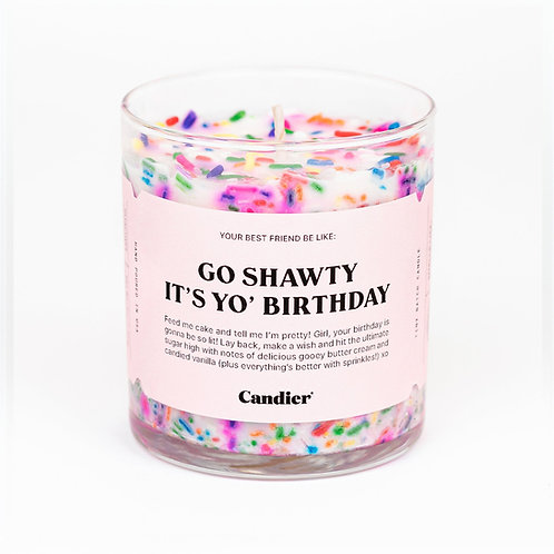 Candier Birthday Cake Candle