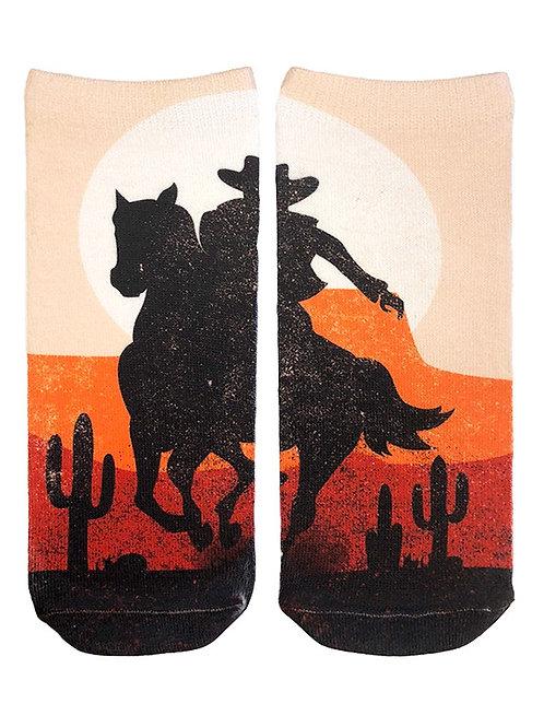 Living Royal Cowboy Sunset Ankle Socks