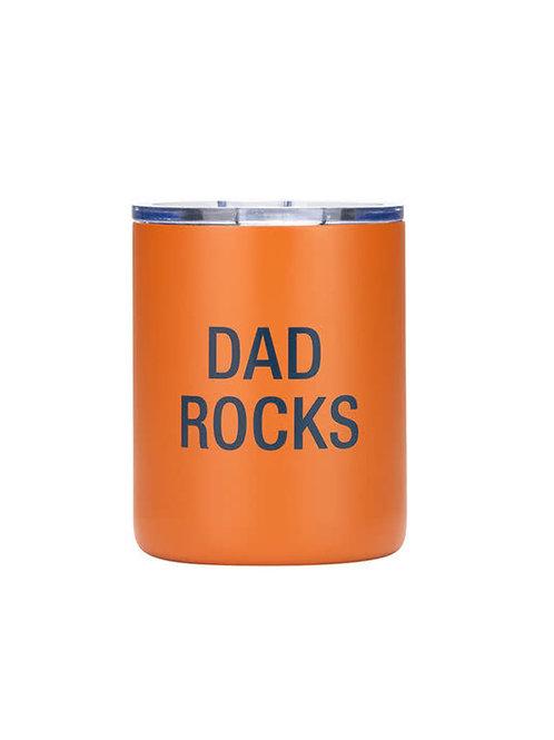 Dad Rocks Tumbler
