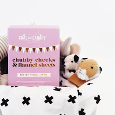 Coal & Canary Chubby Cheeks & Flannel Sheets