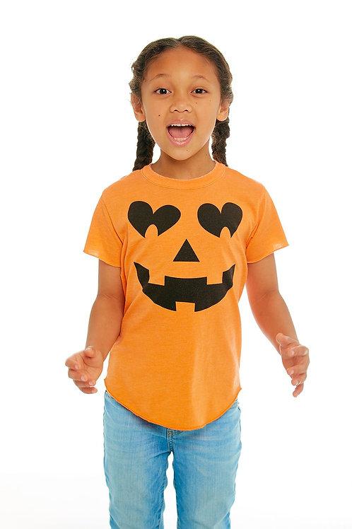 Chaser Kids Pumpkin Face Tee
