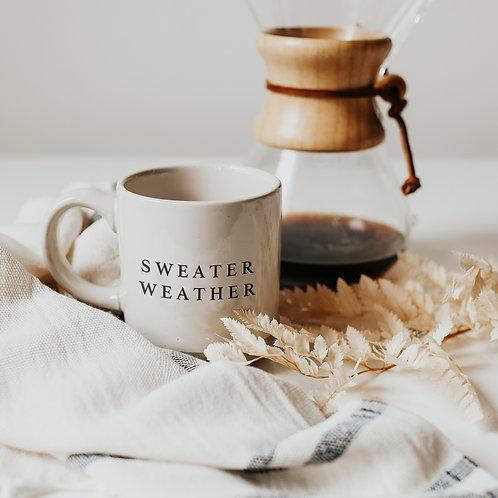Sweet Water Decor Sweater Weather Coffee Mug