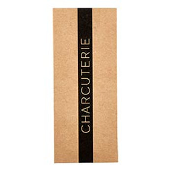 Charcuterie List Pad-Brown