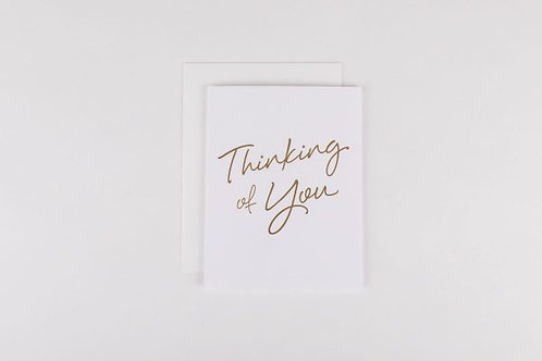 Wrinkle and Crease Thinking Of You Greeting Card
