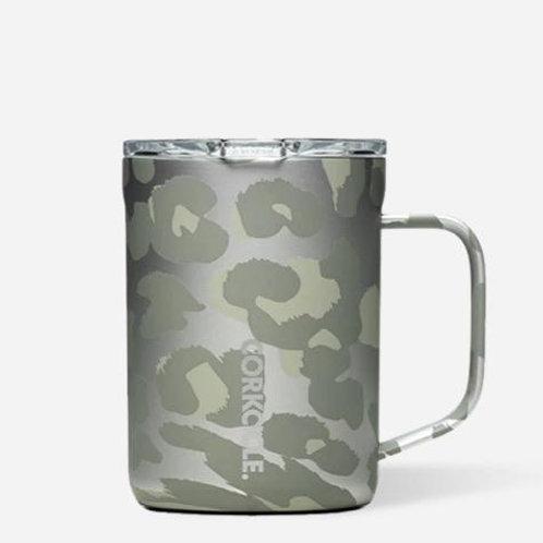 Corkcicle 16 oz Mug Snow Leopard