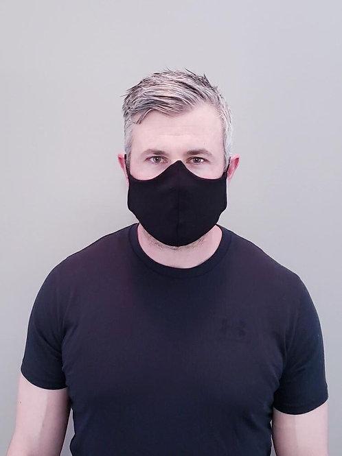 Tessa Glorie Men's Face Mask Black