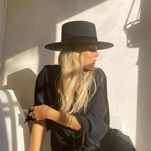 Lack of Color Benson Tri Black Hat