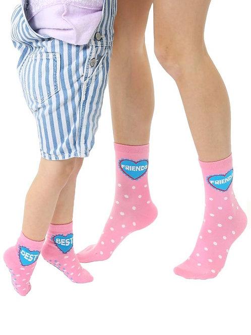 Living Royal Best Friends Me and Mini Socks