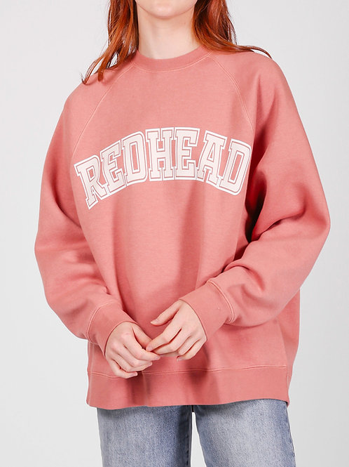 Brunette The Label Redhead Not Your Boyfriends Crew Rose Blus