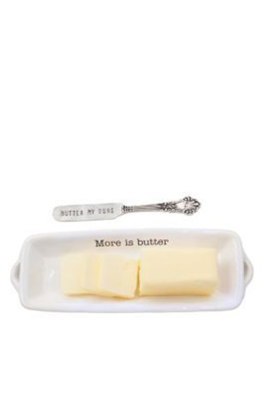 Mudpie More is Butter Dish