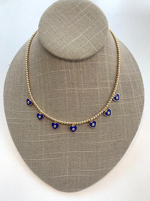 Jocelyn Kennedy Heart Charm Necklace