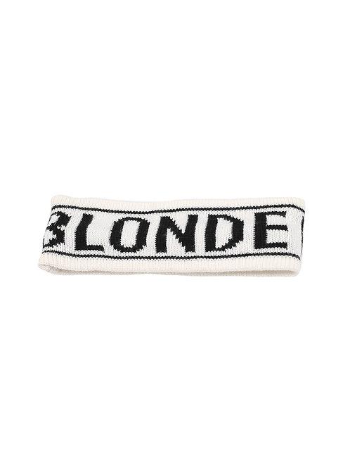 Brunette The Label BLONDE Cream Headband