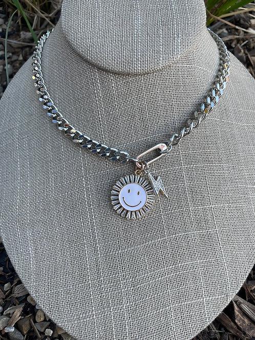 Jocelyn Kennedy Silver Chain Necklace