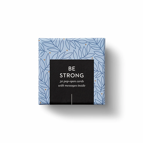Thoughtfulls Be Strong Cards