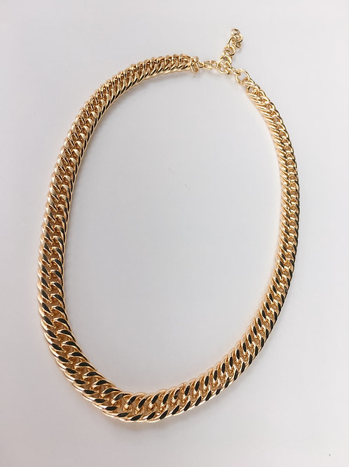 Jocelyn Kennedy Gold Plated Brass Choker