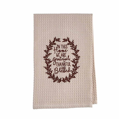 Mudpie Waffle Tea Towel
