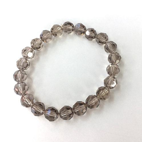 Jocelyn Kennedy Dark Grey Crystal Bracelet