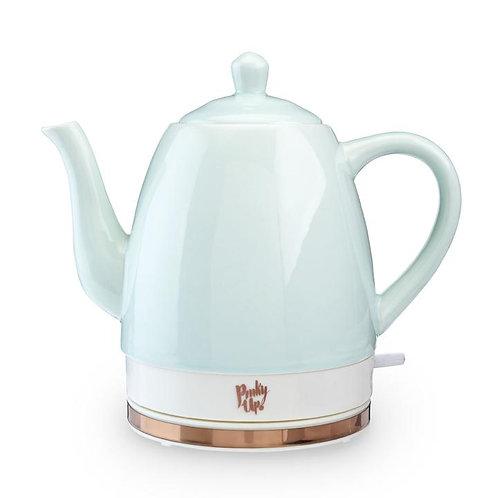 Pinky Up Noelle: Ceramic Electric Tea Kettle