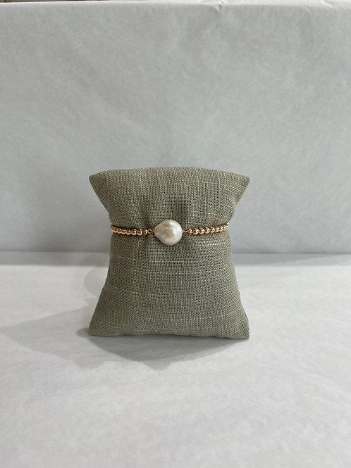 Jocelyn Kennedy Pearl Stretch Bracelet