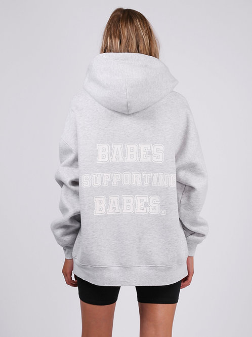 Babes Supporting Babes Big Sister Hoodie