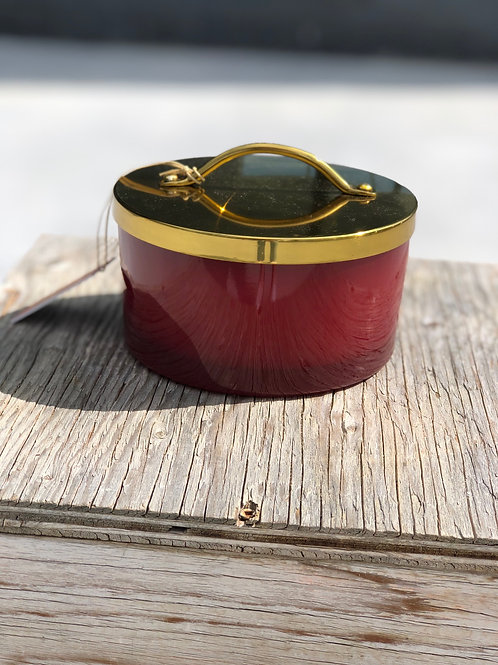 Thymes Simmered Cider Harvest Red 4 Wick Candle
