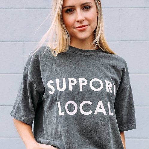 Charlie Southern: Support Local Tee