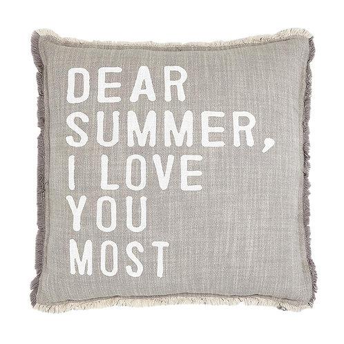 Euro Pillow Dear Summer