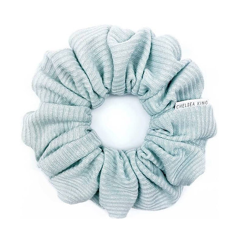Chelsea King Scrunchie - Ribbed Mint