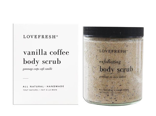 Love Fresh Vanilla Coffee Body Scrub