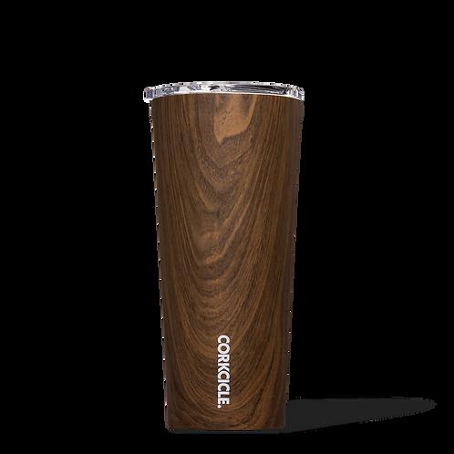 Corkcicle 24 oz Walnut Wood Tumbler