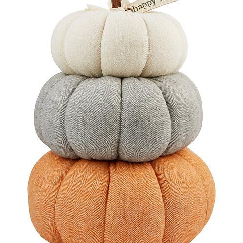 Mudpie Three Pumpkin Stack
