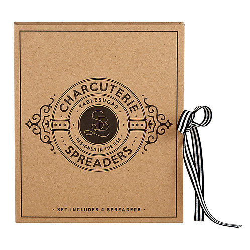 Cardboard Book Set-Charcuterie Spreaders