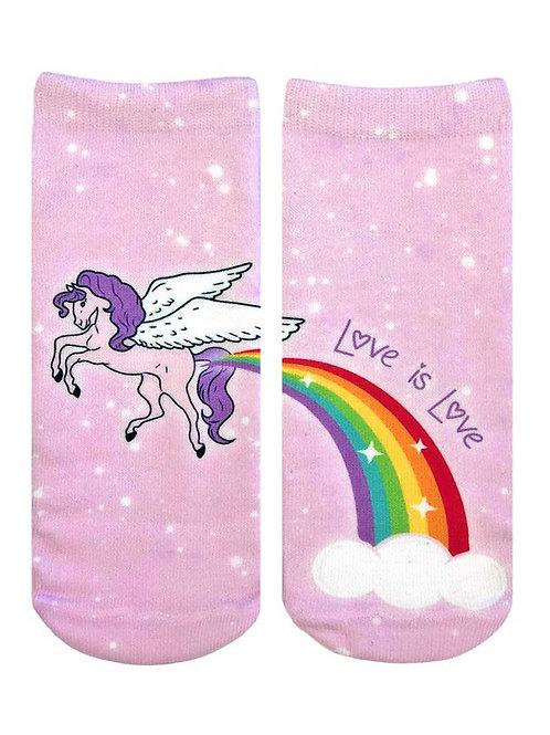 Living Royal Love Is Love Ankle Socks