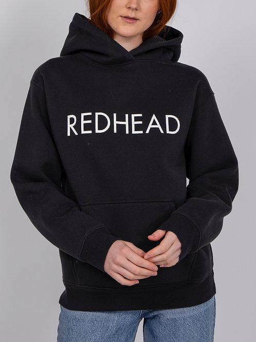 Brunette The Label The Redhead Classic Hoodie Charcoal