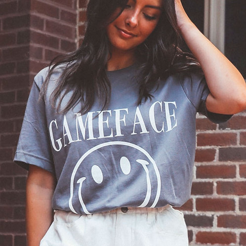 Charlie Southern Gameface Smiley Tee