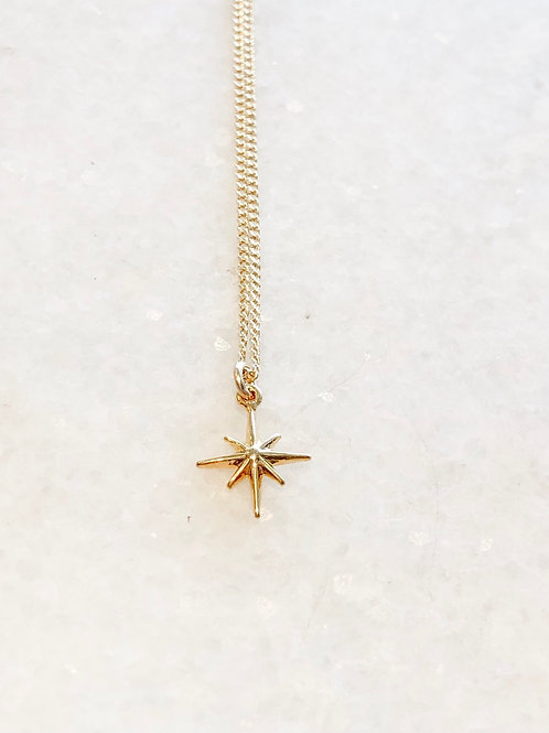 Jocelyn Kennedy Mini Star Necklace