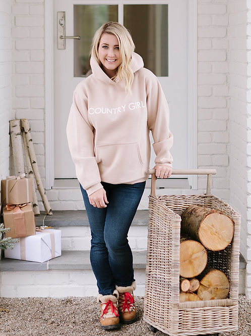 Brunette The Label Country Girl Classic Hoodie