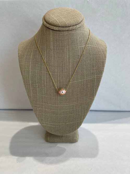 Jocelyn Kennedy Large Evil Eye Necklace