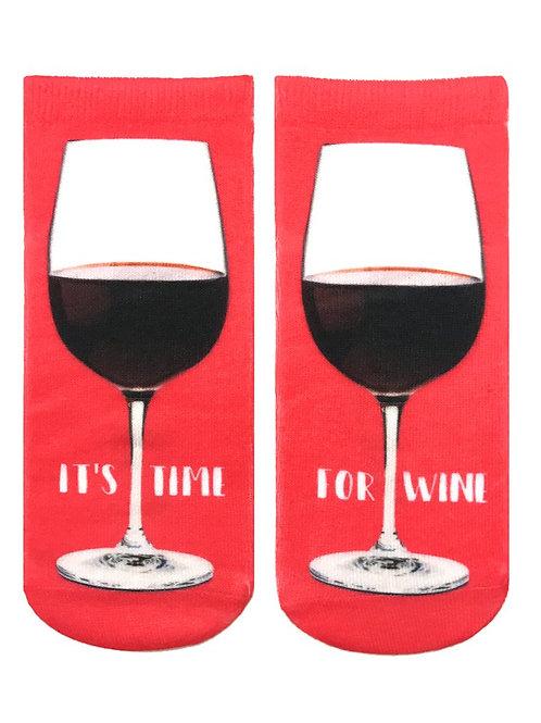 Living Royal Ankle Socks Time For Wine