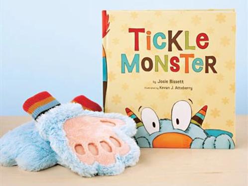 Tickle Monster Book & Mitt