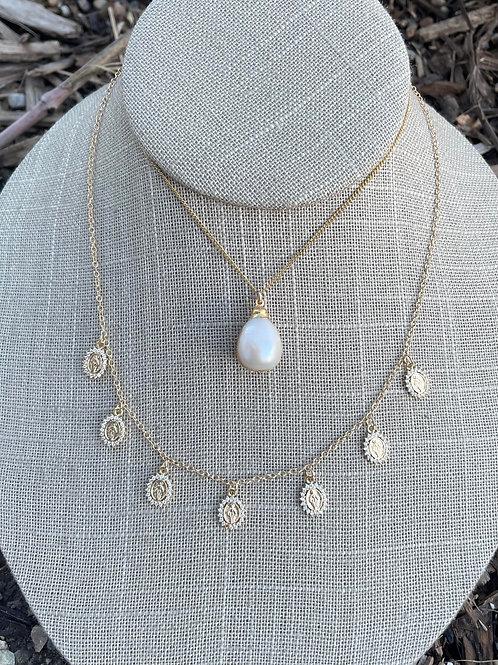 Jocelyn Kennedy Dainty Gold Necklace Stack