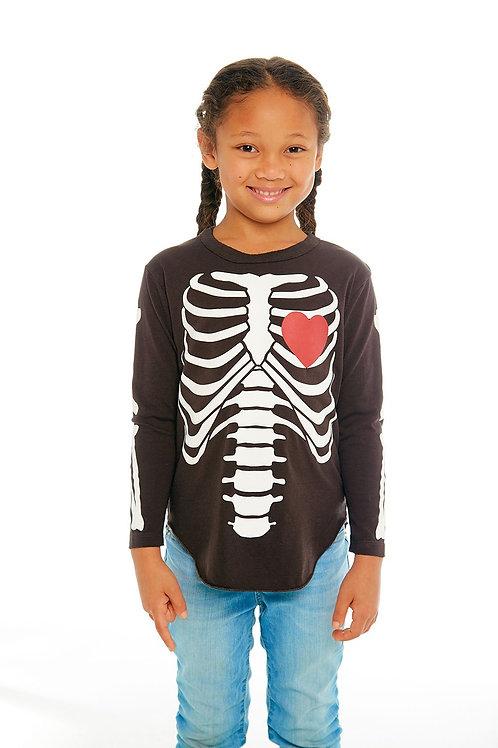Chaser Kids Skeleton Bones Shirt