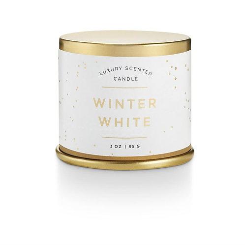 Illume Winter White Demi Tin