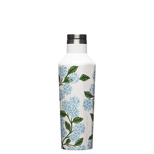 Corkcicle x Rifle Paper Co. Hydrangea 16 oz Canteen