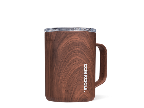 Corkcicle Mug Walnut Wood
