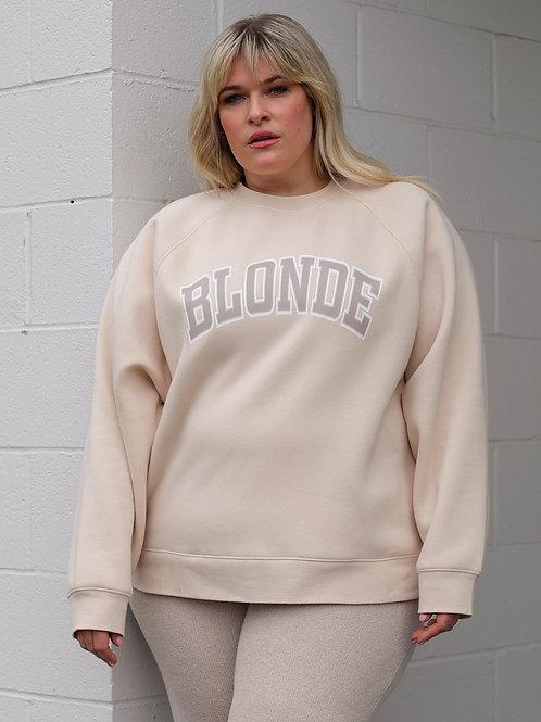 Brunette The Label Blonde Not Your Boyfriends Crew French Vanilla
