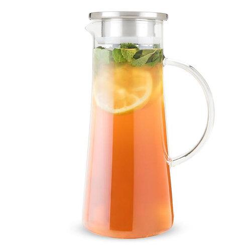 Pinky Up Charlie Glass Tea Carafe