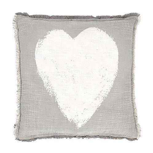 Heart Euro Pillow